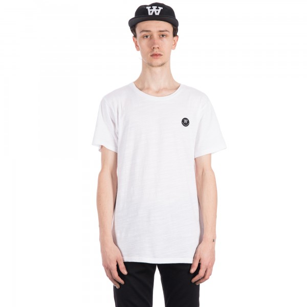 Wood Wood Slater T-Shirt (White)