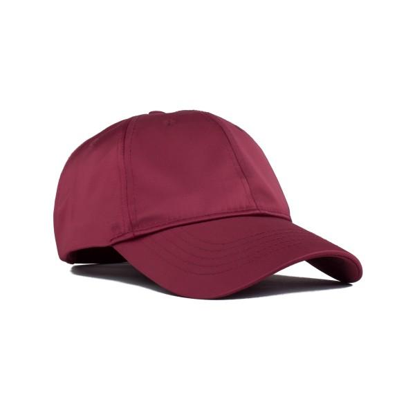 Wood Wood Womens Cap (Dark Red)
