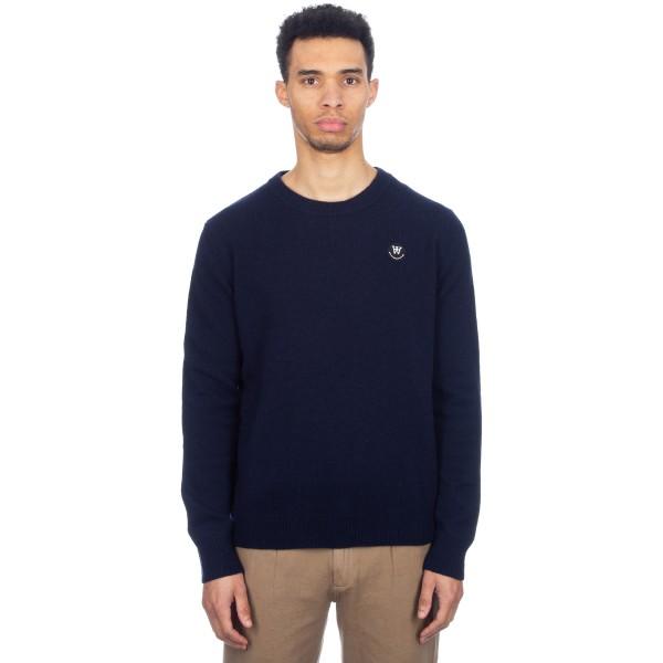 Wood Wood Yale Sweater (Dark Navy)