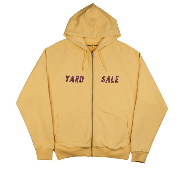 Yardsale 92' Full Zip Hooded Sweatshirt (Mustard)