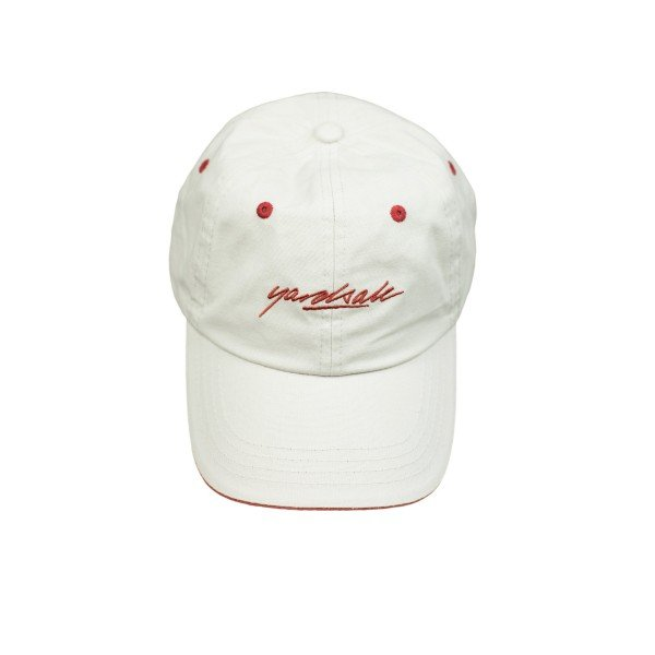 Yardsale Script Cap (Tan/Strawberry)
