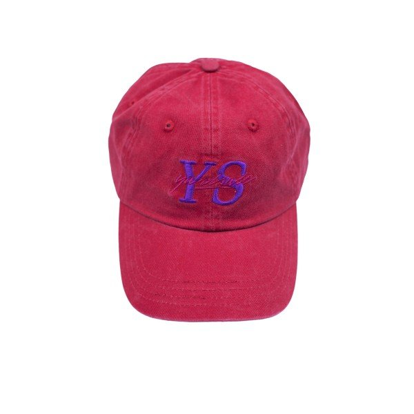 Yardsale YS Script Cap (Mulberry Red)