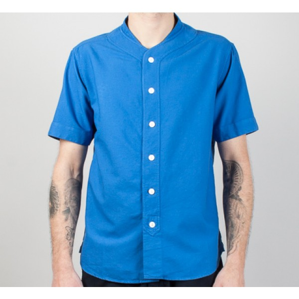 YMC Baseball Shirt (Royal)