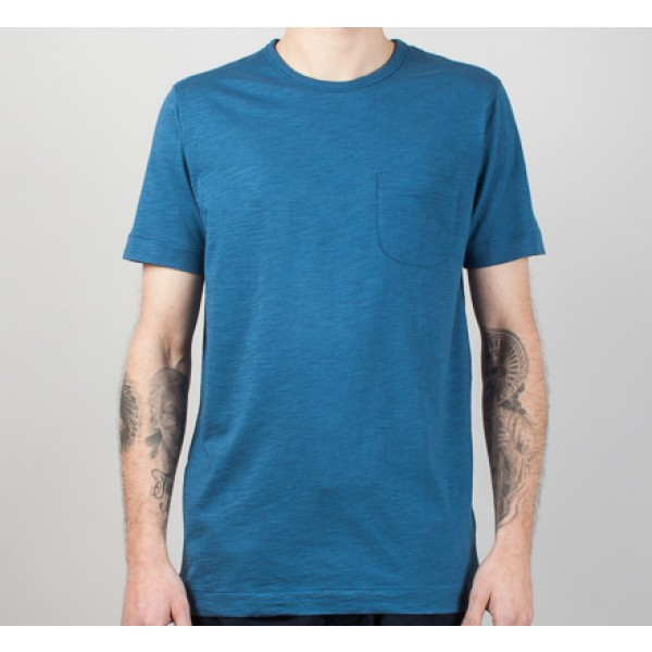 YMC Classic Pocket T-Shirt (Blue)