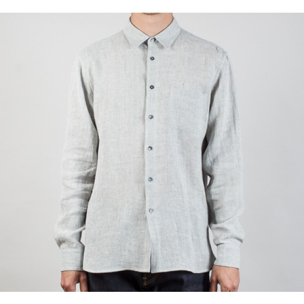 YMC Slim Fit Shirt (Light Grey)