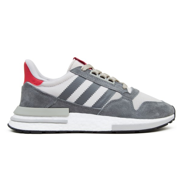 adidas Originals ZX 500 RM 'Grey Four' (Grey Four/Footwear White/Scarlet)