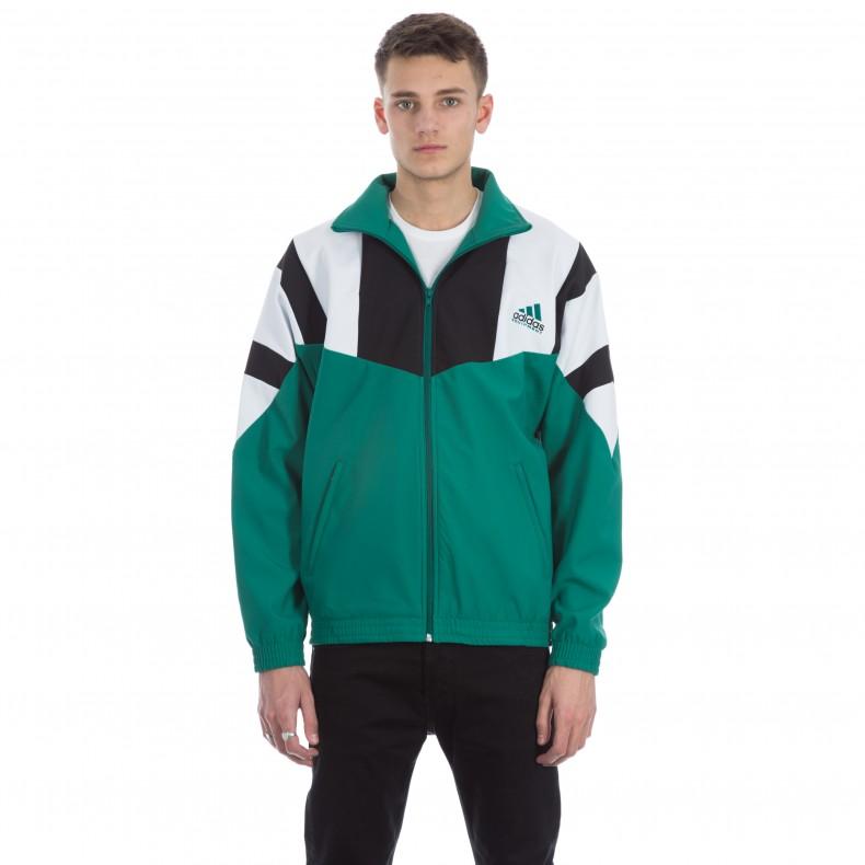 Adidas Eqt Boston Marathon Track Jacket Sub Green White Black