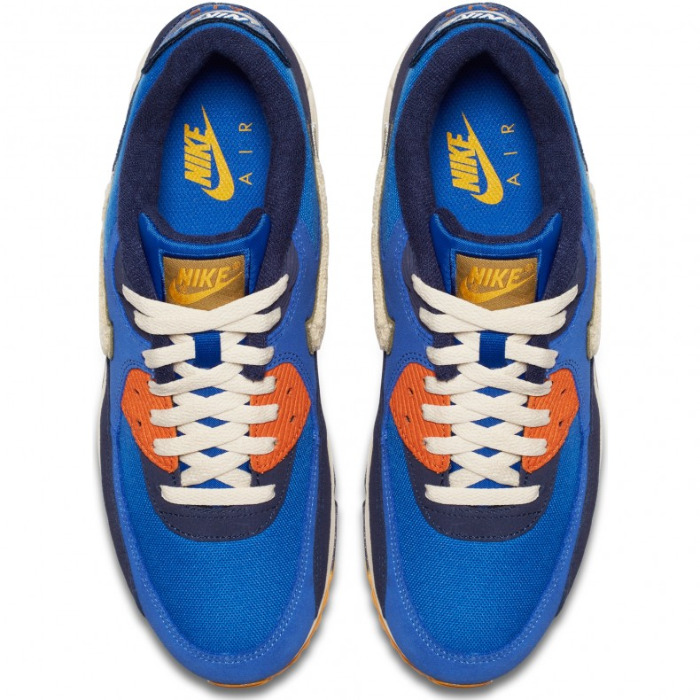 NIKE AIR MAX 90 Premium SE Art.Nr. 858954 400 Herren Sneaker Größe 42,5 neu