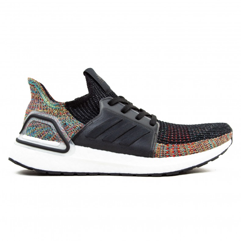 afb05bf00a257 adidas UltraBOOST 19  Dark Pixel  (Grey Six Core Black Shock Yellow) -  Consortium