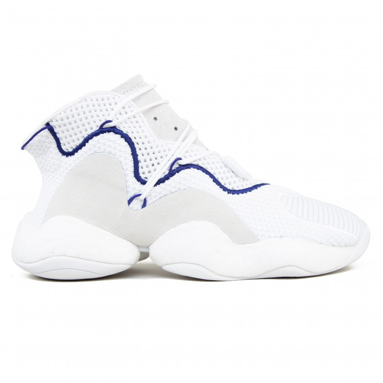size 40 335e3 9c209 adidas Crazy BYW (Footwear White/Footwear White/Real Purple)