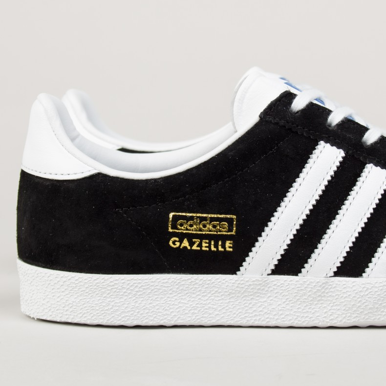 adidas gazelle og black gold