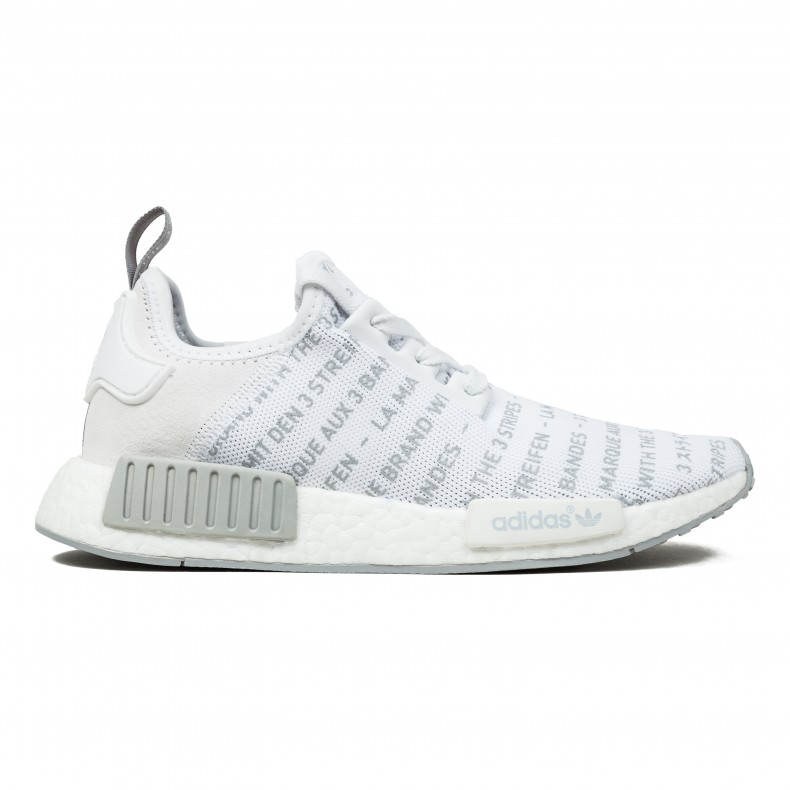 brand new 74633 f6c3f adidas NMD R1 (Footwear White/Footwear White/Charcoal Solid ...