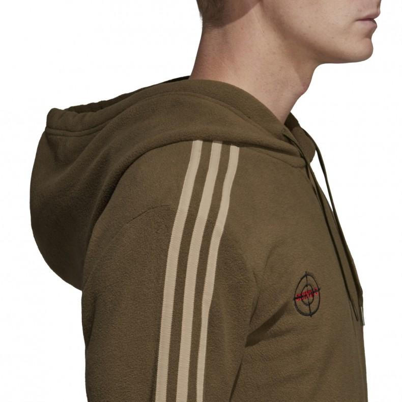 adidas Originals by NEIGHBORHOOD Pullover Hooded Sweatshirt (Trace Olive)