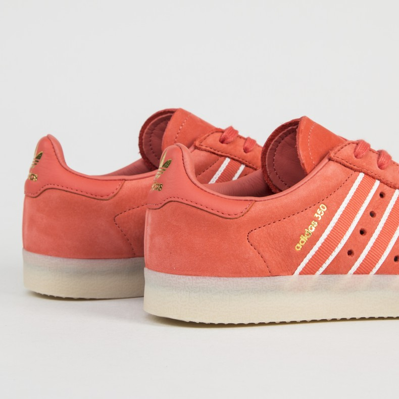 the best attitude eddcf d9e80 adidas Originals by Oyster Holdings 350 (Trace Scarlet/Chalk White/Gold  Metallic)