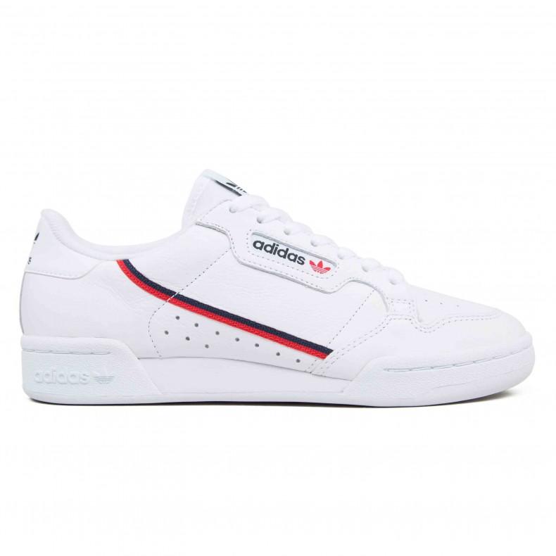 adidas Originals Continental 80 'Yung Series' (Footwear  White/Scarlet/Collegiate Navy)