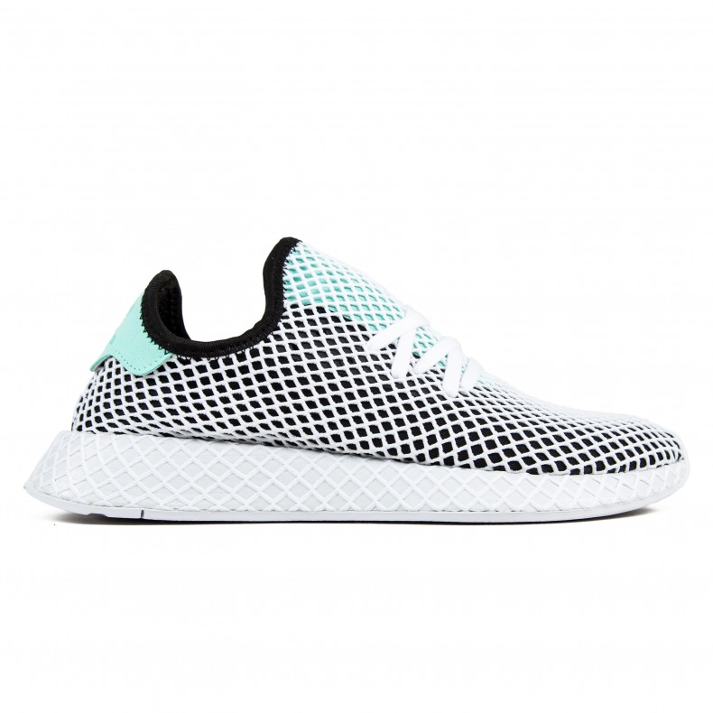 new styles dc968 1b071 adidas Originals Deerupt Runner (Core BlackEasy GreenFootwear White) -  Consortium.