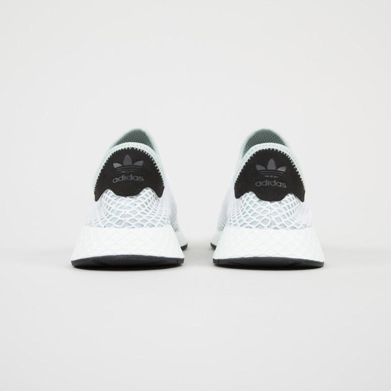 c42d58c9e1322 adidas Originals Deerupt Runner W (Ash Green Ash Green Core Black ...