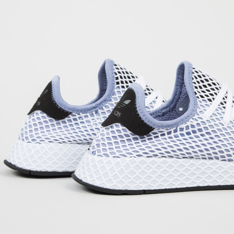 new arrival 6d5ac 21f4a adidas Originals Deerupt Runner W. (Chalk Blue Chalk Blue Core Black)