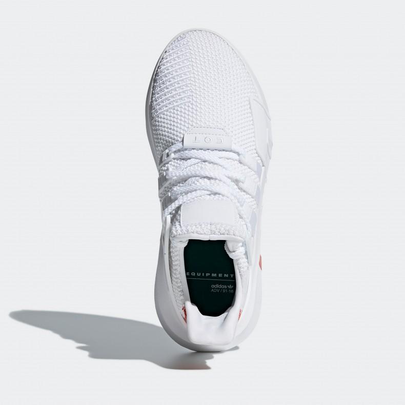 319984737480 adidas Originals EQT Bask ADV (Footwear White Footwear White Trace Scarlet)  - Consortium.