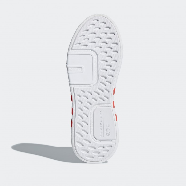 adidas Originals EQT Bask ADV. (Footwear White Footwear White Trace Scarlet) 8374f62b9