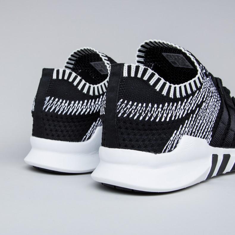 huge discount a9247 55dcc adidas Originals Equipment Support ADV Primeknit (Core Black/Core  Black/Footwear White)