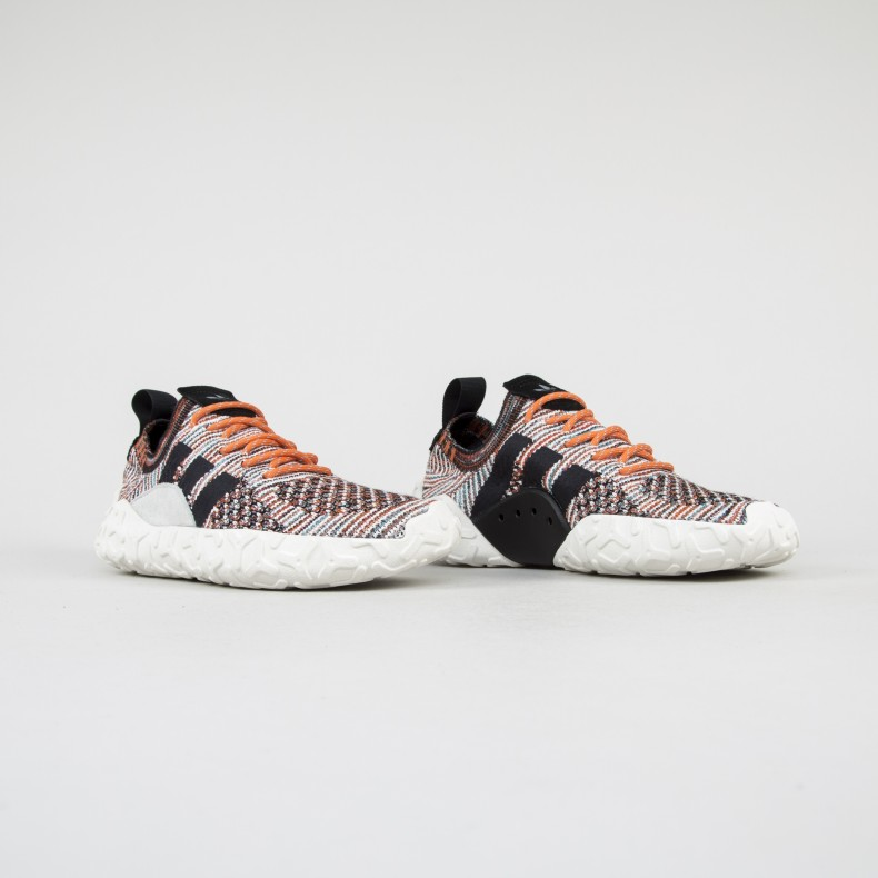 brand new 97e6c 6a691 ... 129fa8aa1e7d adidas Originals F 22 Primeknit (Trace Orange Core Black- Core Black) ...