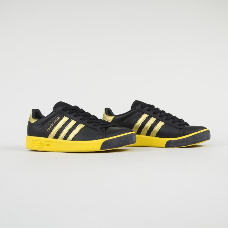 f48d822cd525 adidas Originals Forest Hills OG. (Core Black Gold Metallic EQT Yellow)