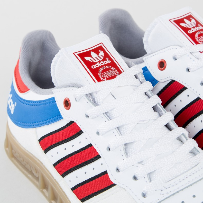 adidas Originals Handball Top (Vintage White StTactile Red