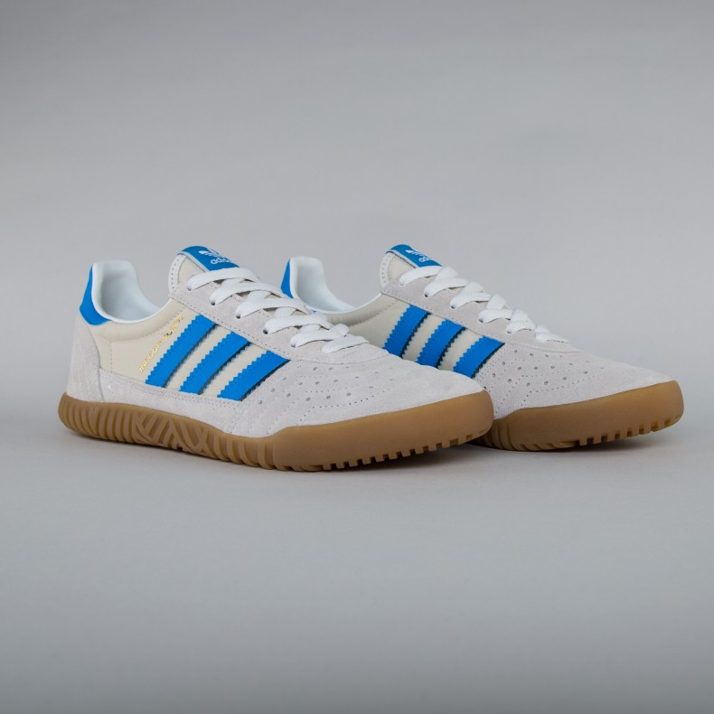 1560f210f093 adidas Originals Indoor Super (Vintage White Bright Blue Collegiate Navy) -  Consortium.