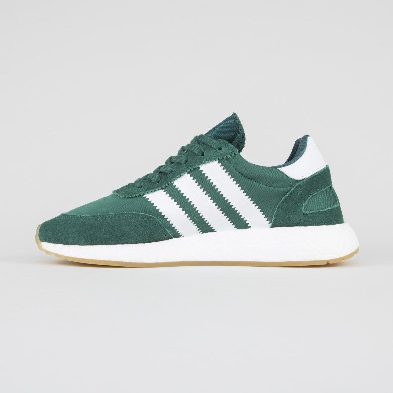 outlet store sale autumn shoes 100% quality adidas Originals Iniki Runner (Collegiate Green/Footwear White/Gum)