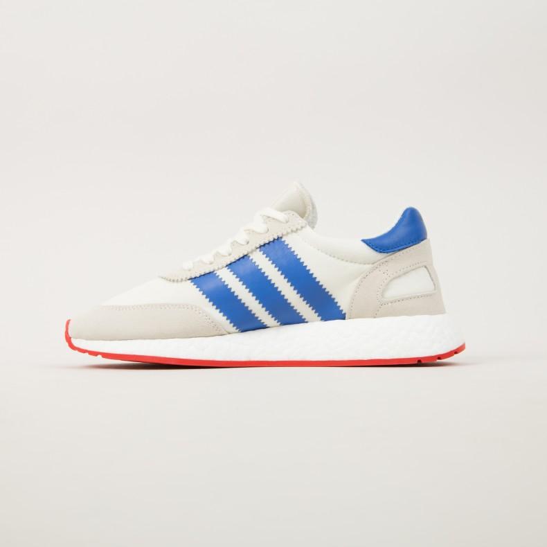 wholesale dealer 44602 de192 adidas Originals Iniki Runner. (Off White Blue Core Red)