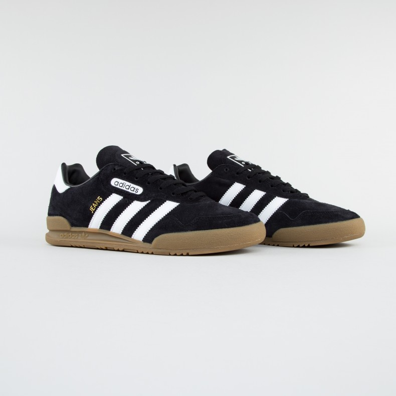 e45b79977b3 adidas Originals Jeans Super (Core Black Footwear White Gold Metalic ...