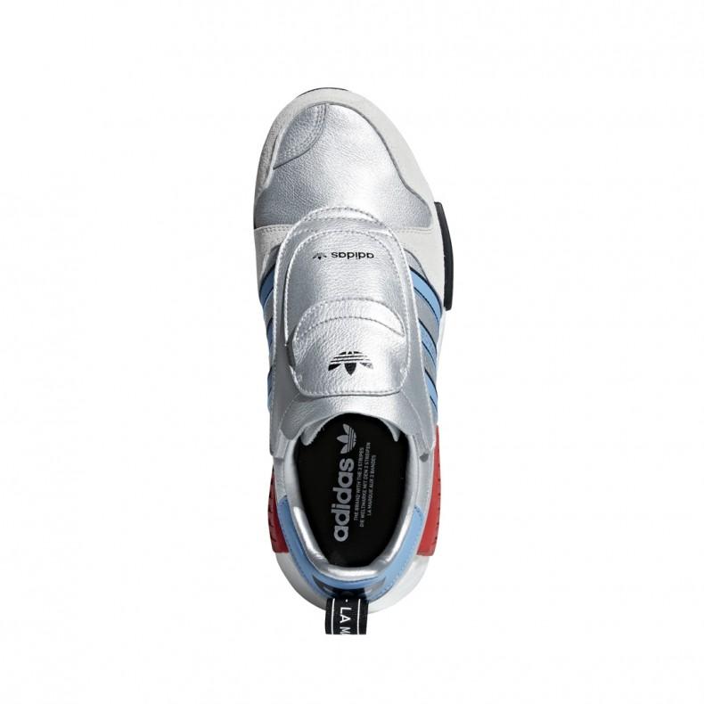 e58b328567b844 adidas Originals Micropacer x NMD R1  Never Made . (Silver Metallic Light  Blue Footwear White)