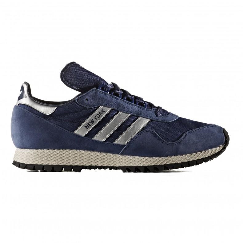 timeless design aa3c7 0373f adidas Originals New York. (Dark Blue Matte Silver Collegiate Navy)