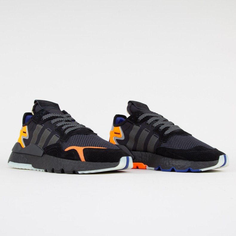 5855aef3ad17c adidas Originals Nite Jogger (Core Black Carbon Active Blue) - CG7088 -  Consortium.
