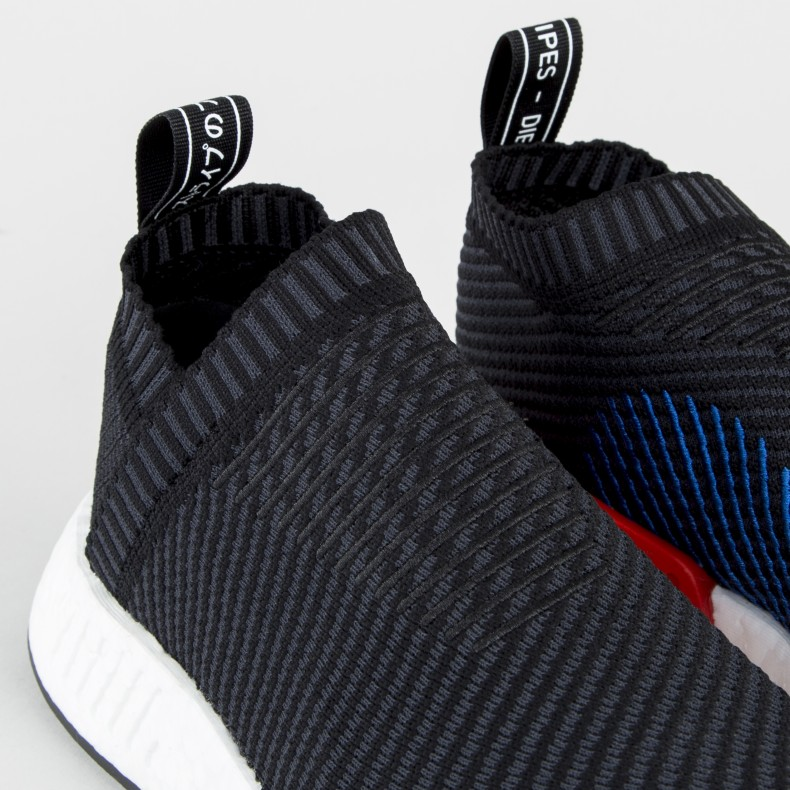 420ecfd9b26e1 adidas Originals NMD CS2 Primeknit  Stealth . (Core Black Carbon Red Solid)