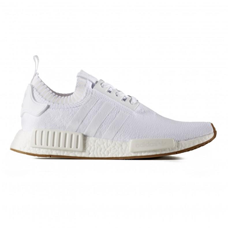 adidas Originals NMD_R1 Primeknit 'Gum Pack' (Footwear White/Footwear White/Gum4) - Consortium.