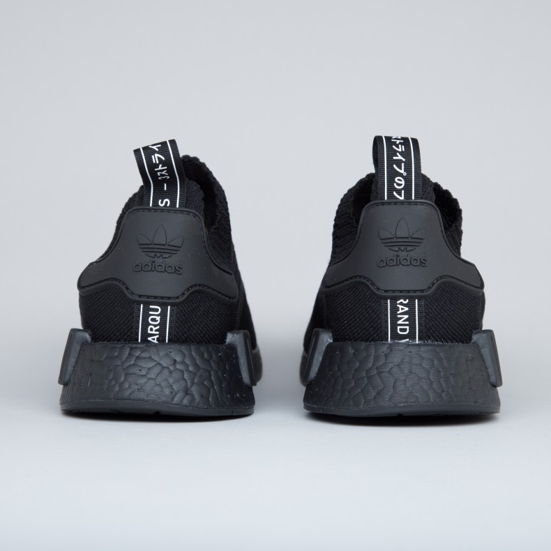 014126bea adidas Originals NMD R1 Primeknit  Japan Triple Black  (Core Black ...