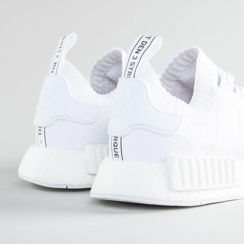 timeless design 675f2 505ac adidas Originals NMD_R1 Primeknit 'Japan Triple White ...