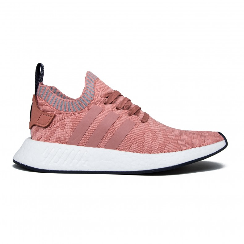 detailed look 1ff56 00feb adidas Originals NMD_R2 Primeknit W (Raw Pink/Raw Pink/Grey Three)