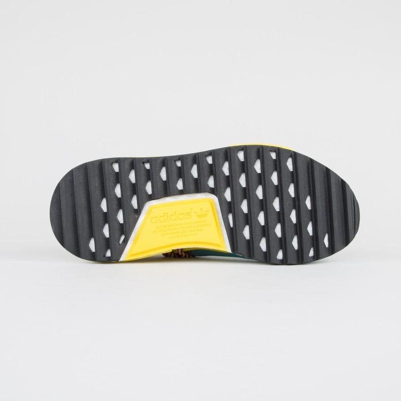 e7acdb879b59c adidas Originals Pharrell Williams HU NMD TR  Hike . (Sun Glow S16 Core  Black Equipment ...