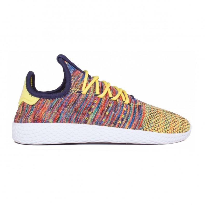 1f5d3995aafc7 adidas Originals Pharrell Williams Tennis Hu (Noble Ink Semi Frozen Yellow Footwear  White) - Consortium.