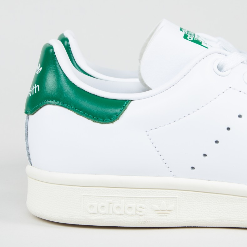 online retailer f178e 6aead adidas Originals Stan Smith (Footwear White/Off White/Bold Green)