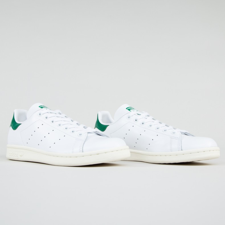 online retailer c985e e97fb adidas Originals Stan Smith (Footwear White/Off White/Bold Green)