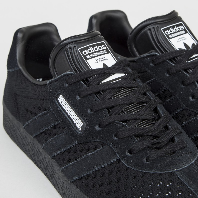 brand new 45c17 88582 adidas Originals x NEIGHBORHOOD Gazelle Super (Core Black ...