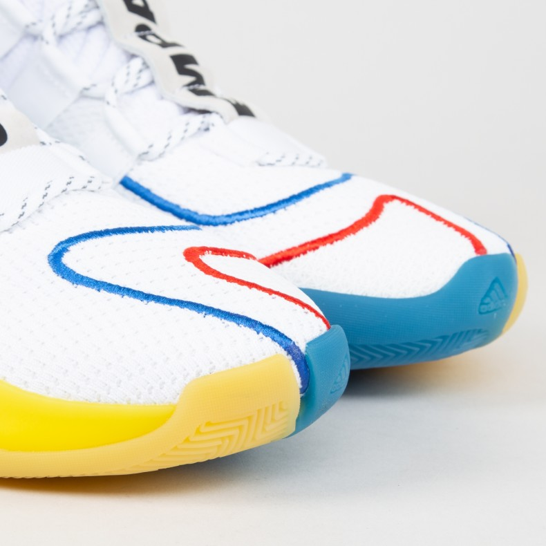 the best attitude 034b6 cbc2a adidas Originals x Pharrell Williams Crazy BYW LVL X (Footwear  White/Supplier Colour/Supplier Colour)