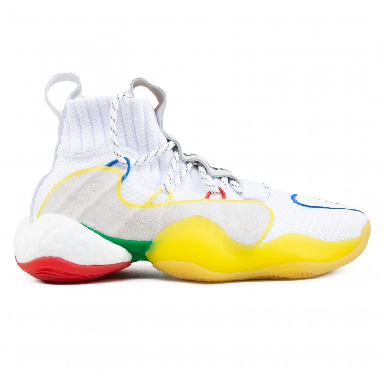 the best attitude bafc8 0178d adidas Originals x Pharrell Williams Crazy BYW LVL X (Footwear  White/Supplier Colour/Supplier Colour)