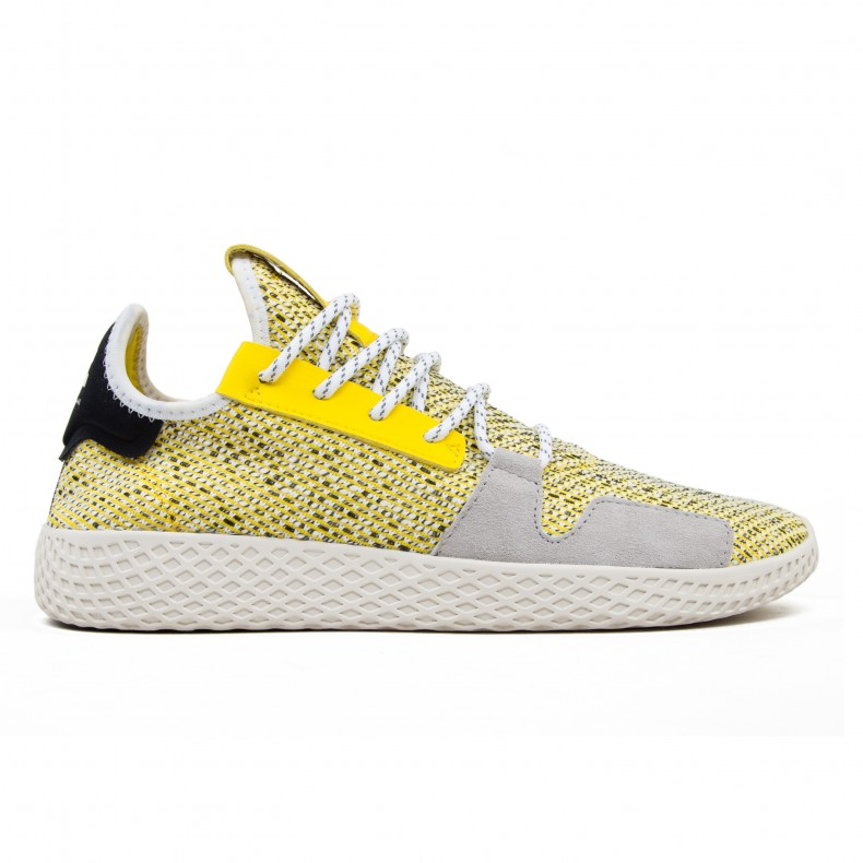 reputable site d025e fd26a adidas Originals x Pharrell Williams SOLARHU Tennis V2 'Solar Pack'  (Yellow/Footwear White/Core Black)