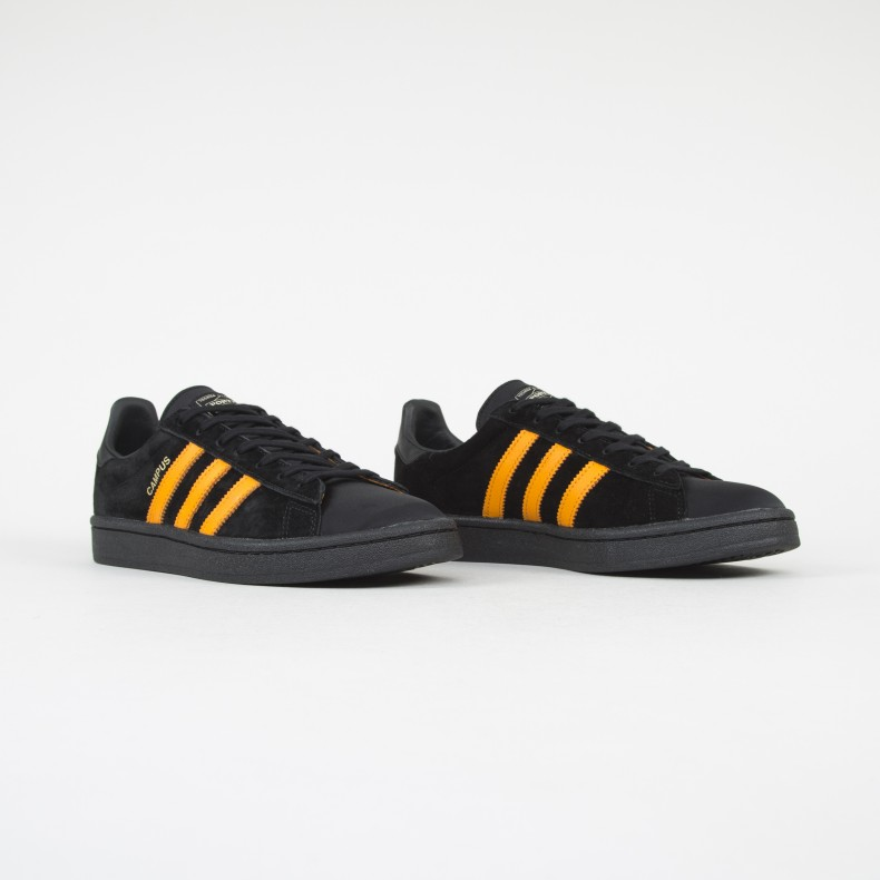 a1bc6a5bf08a adidas Originals x Porter Campus (Core Black Bright Orange Core ...