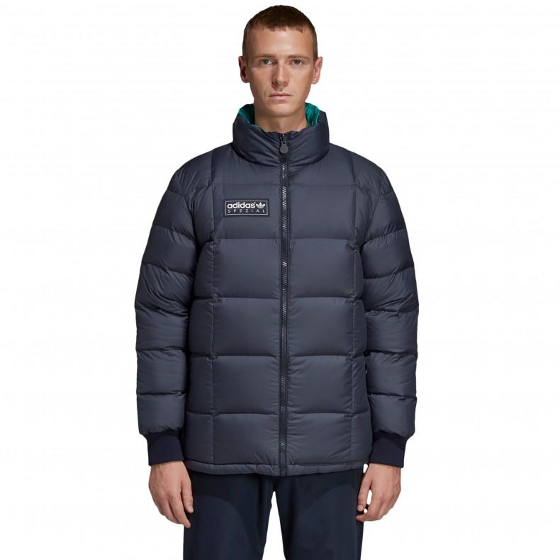 74654b2830b2 adidas Originals x SPEZIAL Carnforth Reversible Puffer Jacket (Night  Navy Aero Reef) - DM1352 - Consortium.